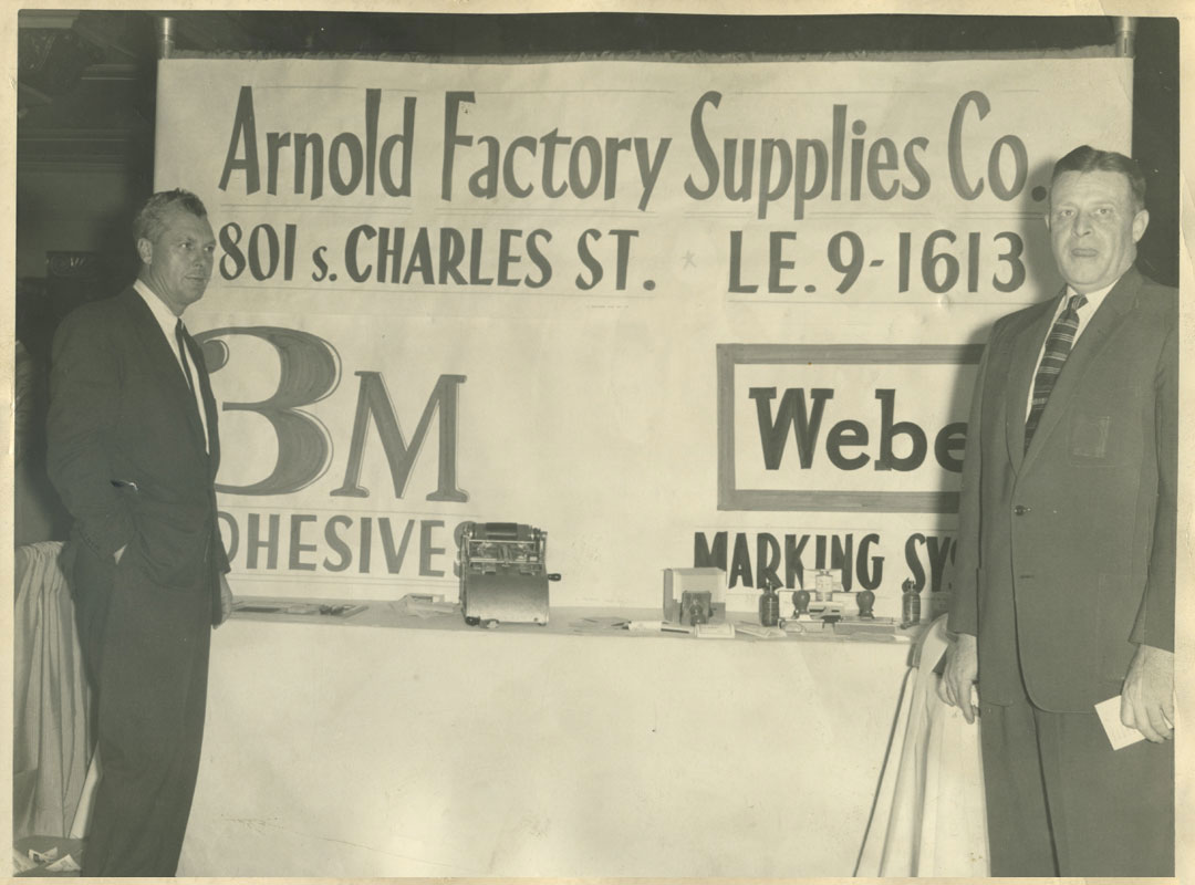 Vintage photo of Arnold Factory Supplies