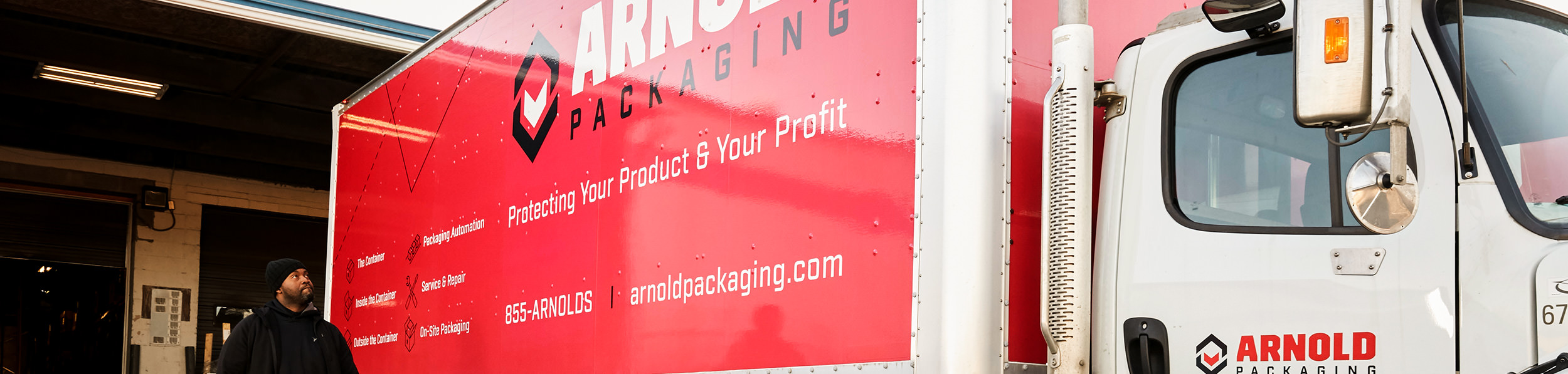 Arnold Packaging Truck