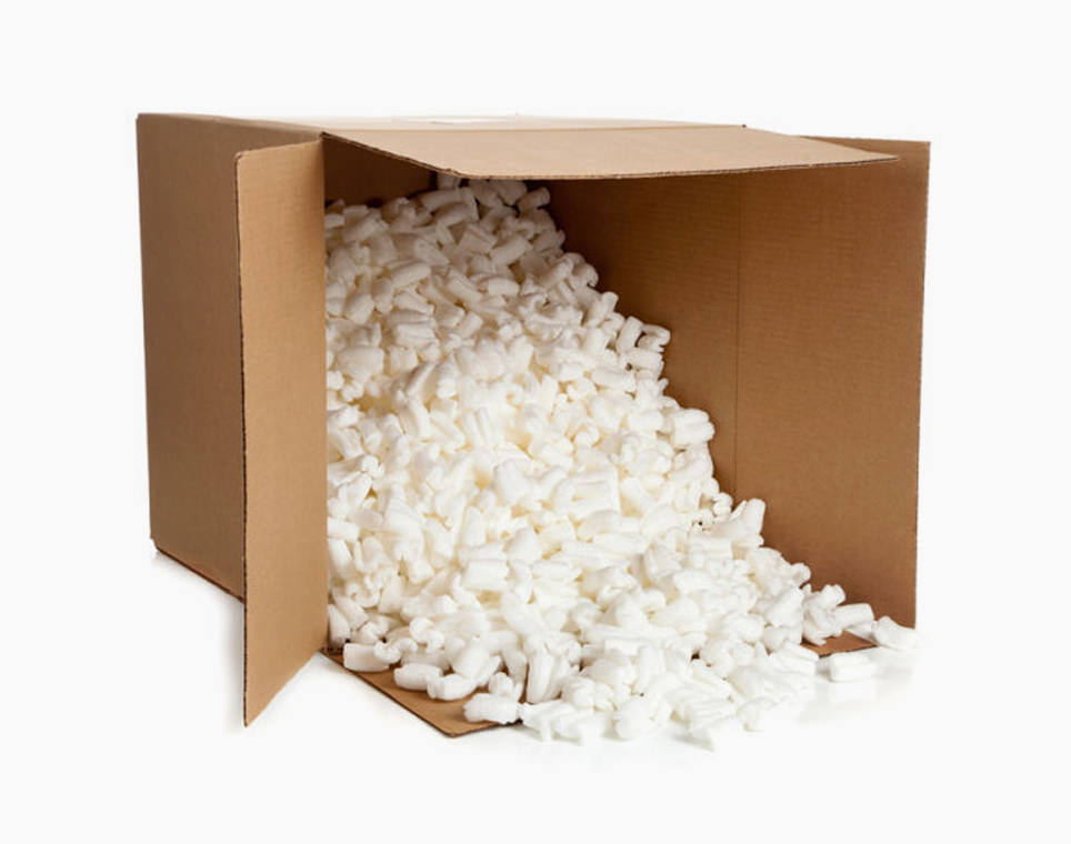 Arnold Packaging | Inside the Container Products & Services - Packing Peanuts