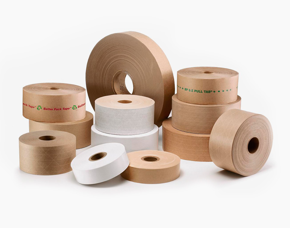 Arnold Packaging | Outside the Container Products & Services - Water activated tape