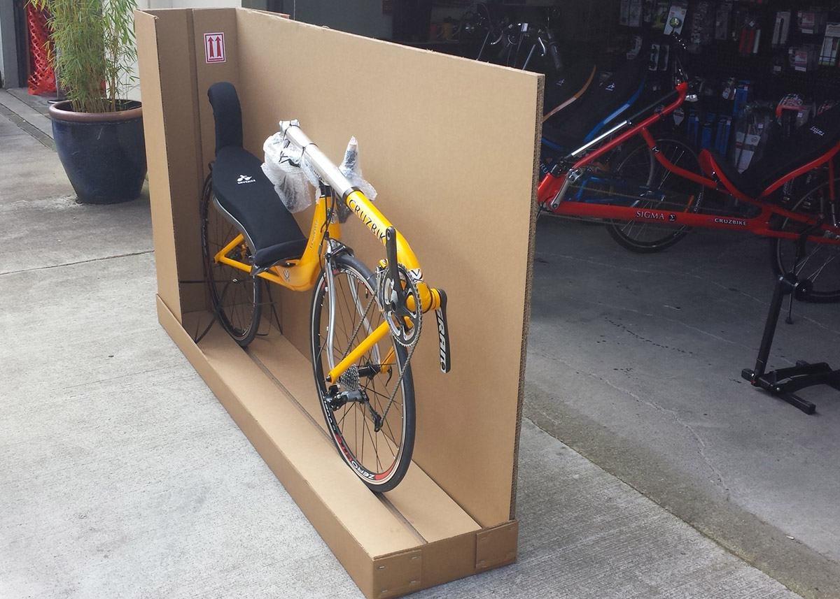Bicycle in Shipping Container
