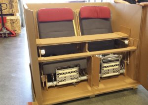 Airline Passenger Seats in Packaging