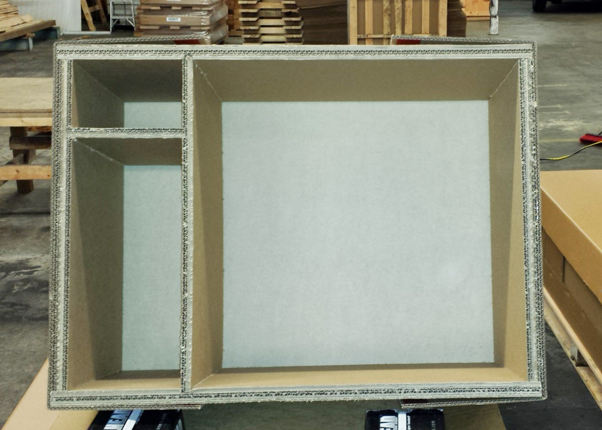 ECORRCRATE applications product with accessory areas