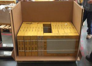 ECORRCRATE bulk tile shipper